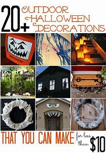 All, Cheap, Crafts, 20, Outdoor, Halloween, Decorations