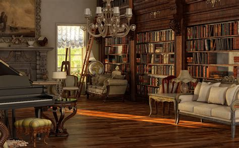 Victorian room by sanfranguy on DeviantArt