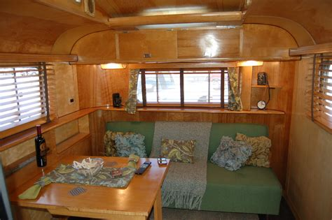 vintage trailer interiors from the 1940 39 s from oldtrailer com