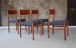 Berlin Möbel Design : 4 x 60er teak esszimmerst hle stilraumberlin d nische design m bel berlin ~ Sanjose-hotels-ca.com Haus und Dekorationen