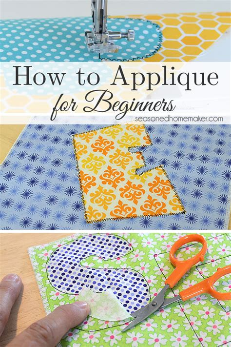 How To Sew Applique by Learn How To Applique Using A Sewing Machine The