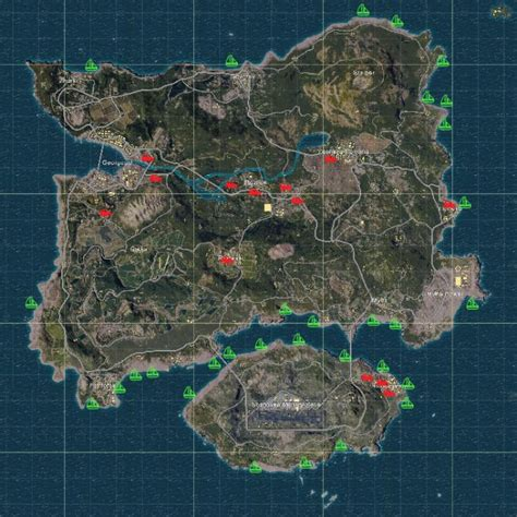 pubg loot map steam community guide pubg loot spots