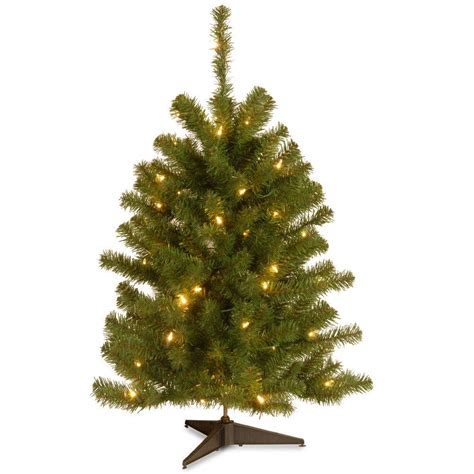 50 foot christmas tree national tree company eastern spruce 3 ft artificial tree with 50 clear lights es