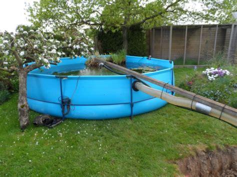 modification bassin et filtre de