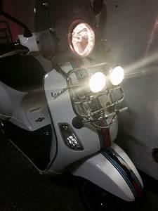Modern Vespa   Rally Fog Lamps For Vespa Lx 150