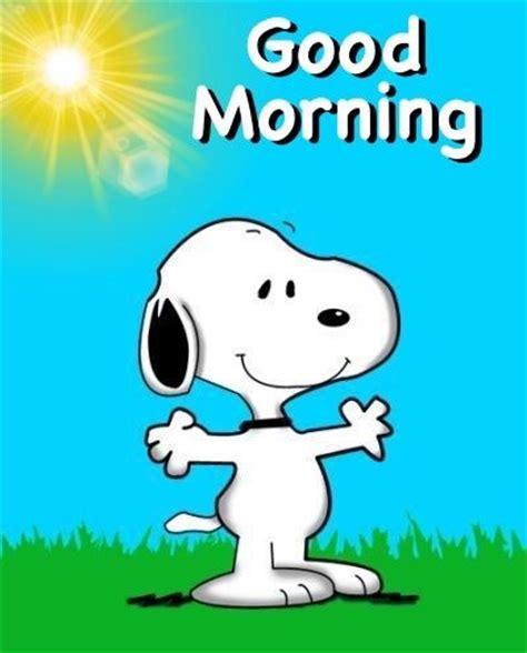 besten snoopy good morning bilder auf pinterest