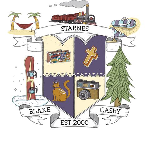 design a family crest the starnes family family crest