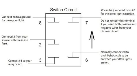 wiring diagram for narva rocker switch aux battery rocker switch arb carling narva dual blue led