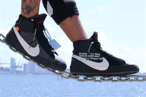 """05b57af3250a 829 x 552 hypebeast.com. Off-White x Nike Blazer """" ..."""