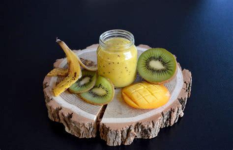 recette de petit pot compote kiwi mangue banane pour b 233 b 233 d 232 s 8 mois