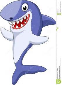 Cute Baby Cartoon Sharks