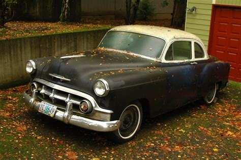 Old Parked Cars 1953 Chevrolet Bel Air Coupe