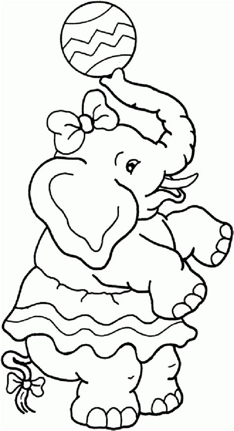 circus coloring pages clown  balloons
