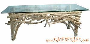 Table Basse En Bois Flotté : table basse bois flotte ~ Teatrodelosmanantiales.com Idées de Décoration