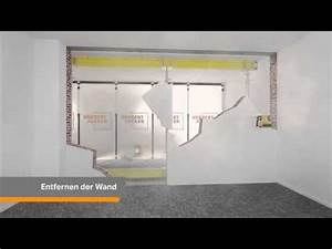 Sturz Tragende Wand : tragende wand entfernen wanddurchbruch und stahltr ger einbauen ~ Markanthonyermac.com Haus und Dekorationen