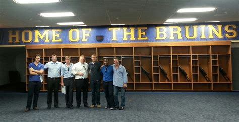 ucla students visit the bowl the business of sports