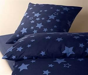 Biber Bettwäsche Sterne : biber bettw sche dunkelblau bei tchibo ~ Indierocktalk.com Haus und Dekorationen