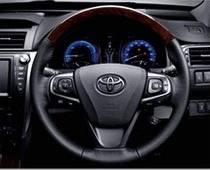 toyota camry wood steering wheel