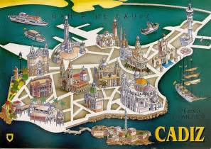Cadiz Spain City Map