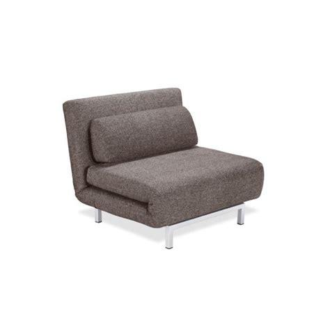 canapé lit 1 place fauteuil convertible design 1 place archie coul achat