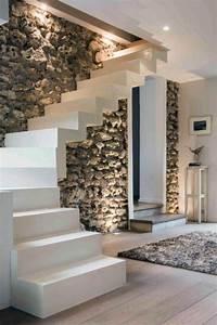 Treppe Im Wohnzimmer : die besten 25 moderne treppe ideen auf pinterest sch ne ~ Lizthompson.info Haus und Dekorationen