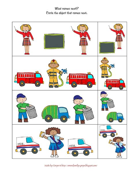 11541 community helpers pictures printables community helpers printables preschool printables