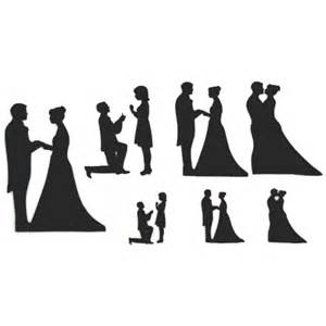 unique wedding cake toppers and groom wedding silhouette set silhouette wedding cake cutters