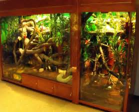 Enclosure Reptile Snake Cages