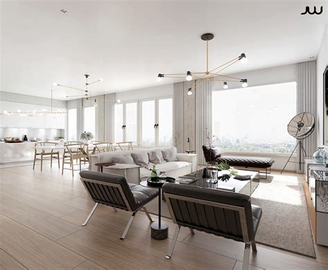 Awesome Luxury Apartment Design Ideas By Javier Wainstein