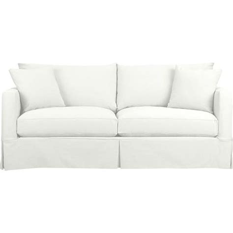 Crate And Barrel Willow Sofa Slipcover by Sofas Crates And Sleeper Sofas On