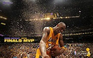 Kobe Bryant Finals MVP 總決賽最有價值球員(MVP)科比桌布圖片2 - 貓貓桌布酷 wallcoo.com