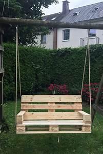 Schaukel Für Balkon : kreative gartenm bel aus europaletten f r eine ~ Lizthompson.info Haus und Dekorationen