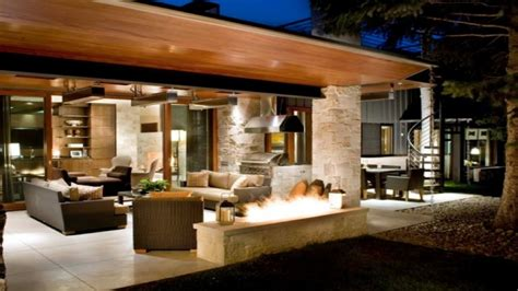 patio lighting outdoor covered deck designs