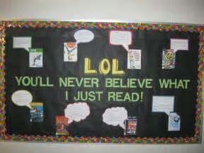 School Library Bulletin Board Ideas
