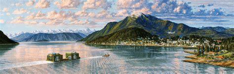 barge service  wrangell alaska alaska marine lines