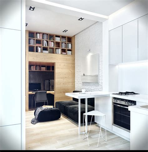 Small Apartment With Snug Storage by Small Apartment With Snug Storage By Denis Svirid