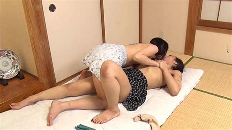 Lesbian Series Kisses A Stepmom And Her Daughter In A
