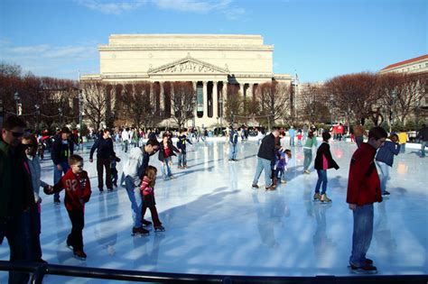 sculpture garden ice rink  monumental experience