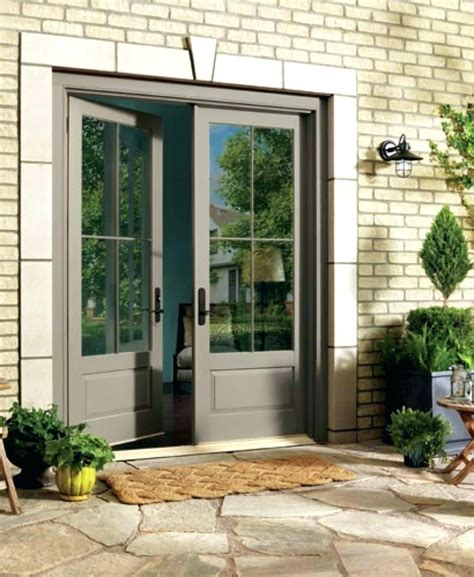 Doors Exterior French Doors Home Depot