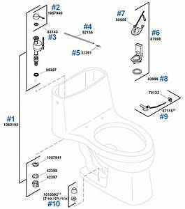 Kohler Toilet Parts Diagram Awesome K 3998 T List And Com