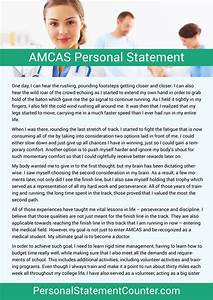 amcas personal statement formatting example