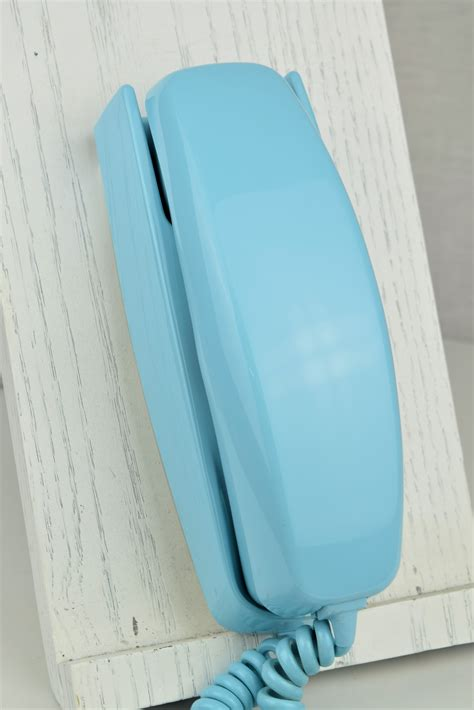 oldphoneworks antique phones colour blue