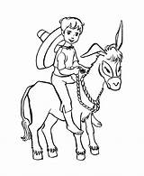 Donkey Coloring Pages Boy Farm Animal Riding Boys Animals Printable Colouring Sheet Drawing Colour Honkingdonkey Balaam Activity Popular Cl Getcoloringpages sketch template