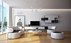 Beautiful design modern small living room with big window for Small living room contemporary design