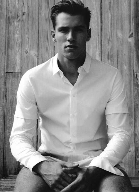 Kacey Carrig Stuns in Black & White for Fashion for Men