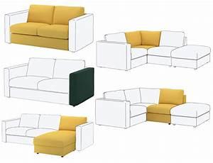 Canapé Chez Ikea : test du canap vimle le modulable pour les petits et grands espaces ~ Teatrodelosmanantiales.com Idées de Décoration