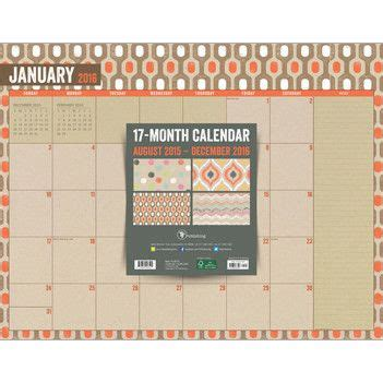 desk blotter calendars 2015 29 best 2016 planners images on planners