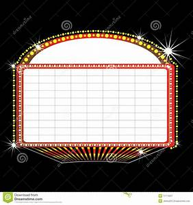 Movie marquee vector clipart clipart suggest for Theatre sign clipart
