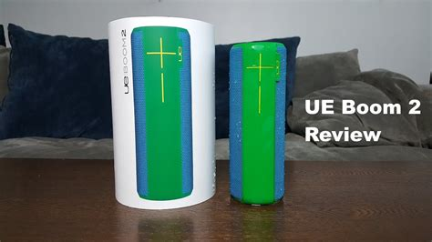 ue boom  review youtube