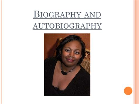 Biography And Autobiography By Misssunshine Teaching